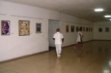 Muestra de Reproducciones de Arte Universal (Colección Consejo provincial Artes Plásticas), Hospital Psiquiátrico, Villa Clara, 2009,©YOB