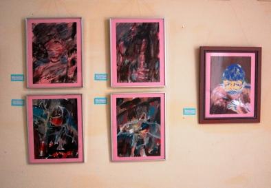 Expo Arturo Larrea. Hospital Psiquiátrico, Villa Clara