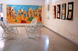 Espacio habilitado dentro del Hospital Psiquiátrico como sala de exposiciones,©YOB