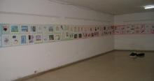 Muestra de trabajos de los talleristas dentro del Hospital Psiquiátrico, Villa Clara, 2008.©YOB