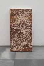 Ghost Painting(Craked Category)Arrangement, mixta sobre textil,95x64cm, 2015