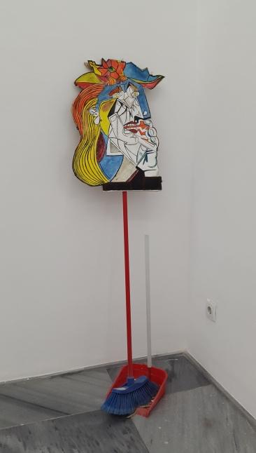 Utot 3, Pintura sobre lienzo, 76x68cm, 2016