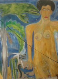 Pintura Mural, interior de su casa. Boffill