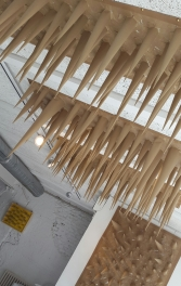 """Instalación """"El cuartico está igualito"""", 2017,©YOB"""