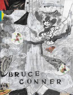 LPC, Bruce Conner, Es todo Cierto, Serie Cromos de Artistas, 2017