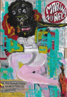 LPC, Reproductibilitat 2.3. Marina Nuñez, Serie Cromos de Artistas,2017