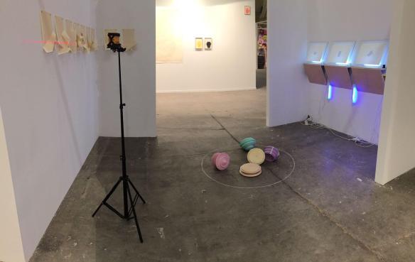 Daniel Marín Corona,Stand Galería Angeles Baños, Swab Barcelona Art Fair 2017, Premio DVK al mejor artista español.