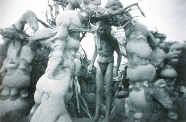 Man, jardín de esculturas