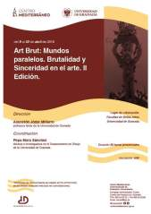 Cartel Evento Art Brut, Univ Granada