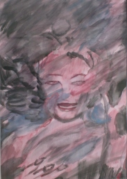 Sin titulo(2008), mixta sobre cartulina, 45,5 x 35cm