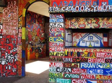 La Pinturitas, interior del edificio. Foto: Hervé Couton