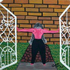 Sin título,Clara Ortiz, Mixta sobre cartulina39 x 35cm,