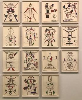 """Anibal Brizuela, Colección Treger/ Saint Silvestre, Expo """"El Ojo Eléctrico"""" (©YOB)"""