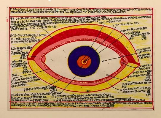 """Oscar Morales, Colección Treger/Saint Silvestre, Expo """"El Ojo Eléctrico"""" (©YOB)"""